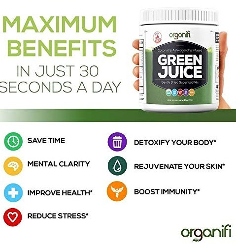 Organifi Green Juice benefits