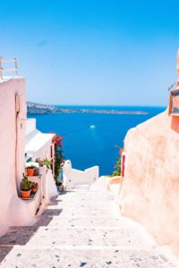 how to have a better life santorini